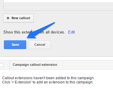 ad extensions step 15