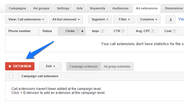 call tracking for adwords 4